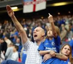 Chelsea Father and Son address the opposing club.